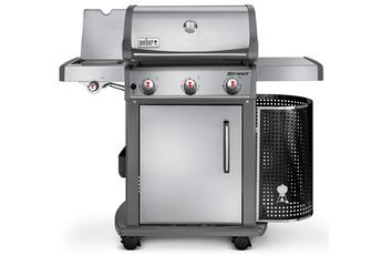 Barbecue americain Spirit Premium S-320 GBS inox - 3 brûleurs Weber