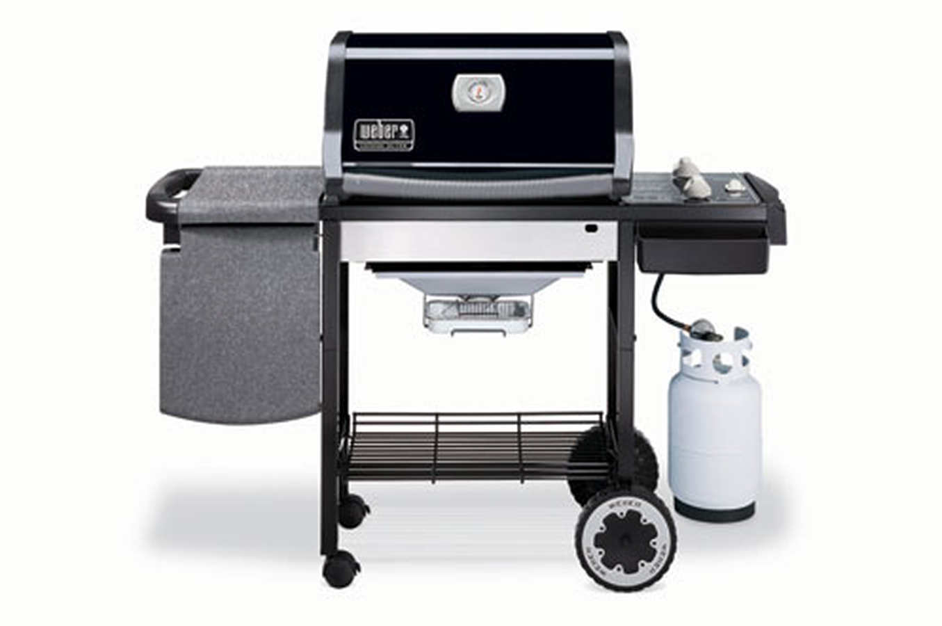 Barbecue americain weber genesis silver a genesis 2295032 darty - Nettoyage grille barbecue weber ...
