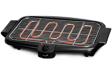 grille viande harper barbecue noir bqs800 bqs800 darty. Black Bedroom Furniture Sets. Home Design Ideas