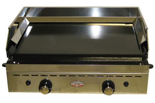 plancha pro forge adour iberica 600 inox 2 feux iberica 600 inox 2f 3098915. Black Bedroom Furniture Sets. Home Design Ideas