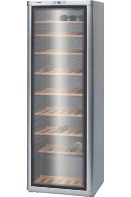 Capacité de 120 bouteilles 9 clayettes en bois Affichage digital de la température Porte vitrée anti-UV
