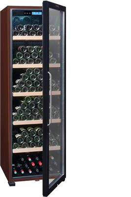 Capacité 236 bouteilles 5 clayettes en bois Dimensions HxLxP : 185x59.5x71 cm Fonction hiver - Porte anti-UV