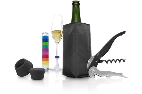 Autour du vin COFFRET CADEAU 5 PIECES Pulltex