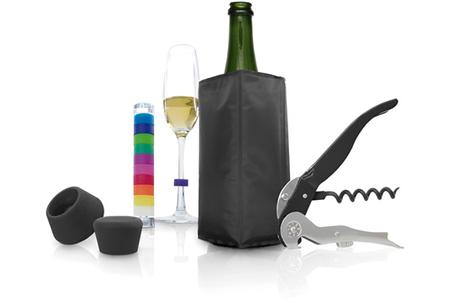 autour du vin pulltex coffret cadeau 5 pieces darty. Black Bedroom Furniture Sets. Home Design Ideas