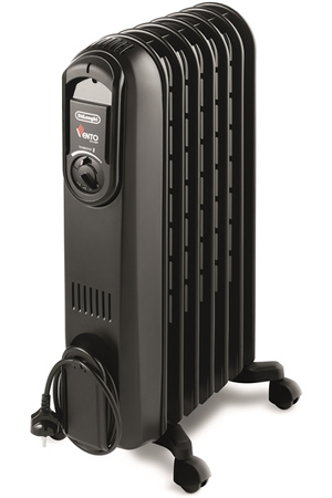 radiateur bain d 39 huile delonghi v550715b vento black darty. Black Bedroom Furniture Sets. Home Design Ideas