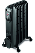Radiateur bain d'huile Delonghi V550920B VENTO BLACK
