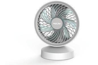 KLARSTEIN Ventilateur de Table Oscillant sur Pied Inclinable Compact Silencieux