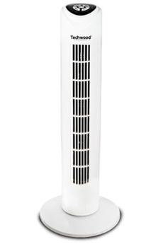 Ventilateur colonne oscillant avec t/él/écommande /écran digital fonction turbo 4 vitesses air frais maion