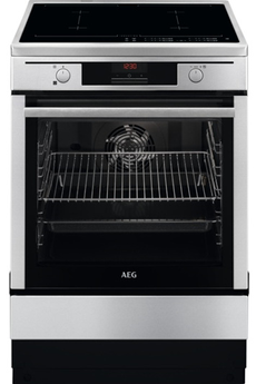 Cuisinière induction Aeg CIB6670APM STEAM BAKE INOX