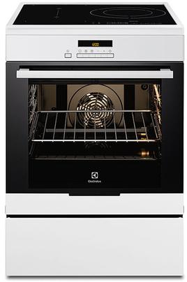 Largeur 60 cm - Table de cuisson induction 3 foyers jusqu'à 3700 W (avec booster) système Velvet Closing : fermeture en douceur de la porte. Four multifonction chaleur tournante pulsée