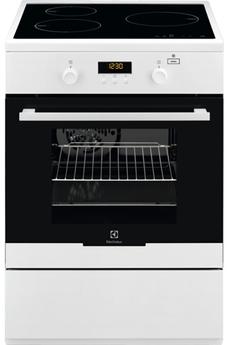 Cuisinière induction Electrolux EKI64900OW PlusSteam Blanc