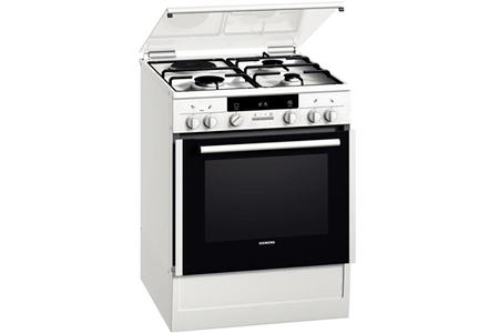 Cuisinière Mixte Siemens HRDF Darty - Cuisinieres mixtes pyrolyse pour idees de deco de cuisine