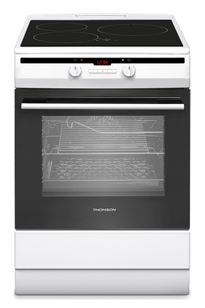 Cuisinière Induction Thomson TIMPWH Darty - Cuisiniere induction four pyrolyse largeur 50 cm pour idees de deco de cuisine