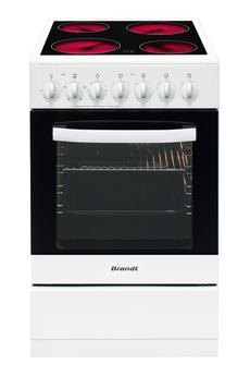 Cuisinière vitrocéramique KV1540W Brandt