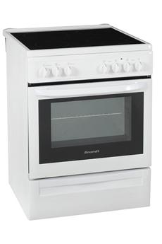 Cuisinière vitrocéramique KVC1340W Brandt