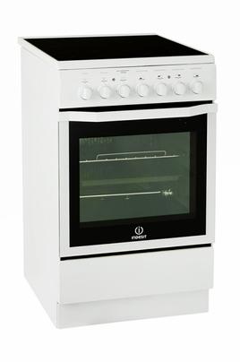Cuisinière vitrocéramique I5VMC1A (W) FR Indesit