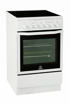 Cuisinière vitrocéramique Indesit I5VMC1A (W) FR