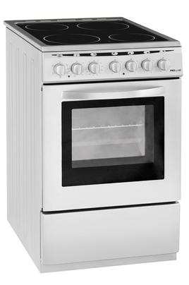 Largeur 50 cm - Table de cuisson vitrocéramique 4 foyers jusqu'à 1800 W Capacité du four 48 L - Nettoyage catalyse Four cuisson multifonction air brassé