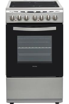 Largeur 50 cm - Table de cuisson vitrocéramique 4 foyers jusqu'à 1800 W Capacité du four 48 L - Nettoyage catalyse Four cuisson par convection naturelle