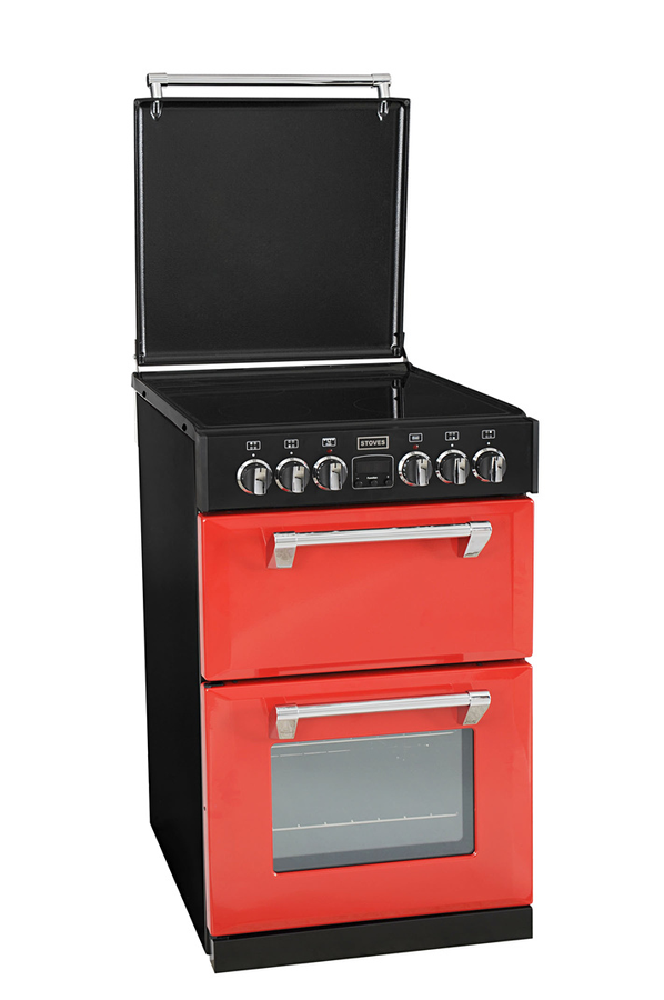 cuisiniere electrique rouge table de cuisine. Black Bedroom Furniture Sets. Home Design Ideas