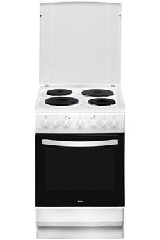 Largeur 50 cm - Table de cuisson électrique 4 foyers jusqu'à 1500 W Grande capacité du four 65 L - Nettoyage catalyse Four multifonction air brassé - Gril de 2000 W