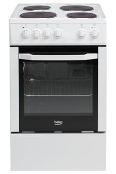 Cuisinière électrique CSS56000GW Beko