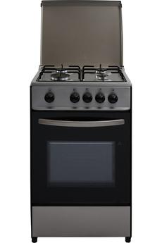 Largeur 50 cm - Table de cuisson gaz 4 foyers jusqu'à 2500 W Capacité du four 40 L - Nettoyage manuel Four cuisson par convection naturelle