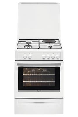 Cuisinière mixte BCM6656W Brandt