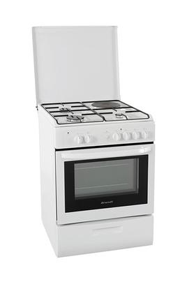 Cuisinière mixte KMP1216W Brandt