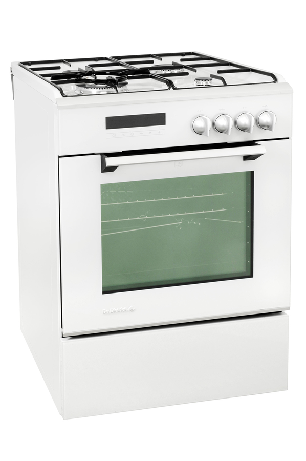 Cuisini re mixte de dietrich dcm950w 2879344 darty - Cuisiniere mixte deux fours ...