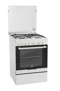 Cuisinière mixte Electrolux EKM6130AOW BLANC