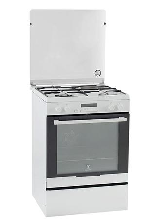 Cuisinière Mixte Electrolux EKMAOW Darty - Cuisiniere a gaz avec four chaleur tournante pour idees de deco de cuisine
