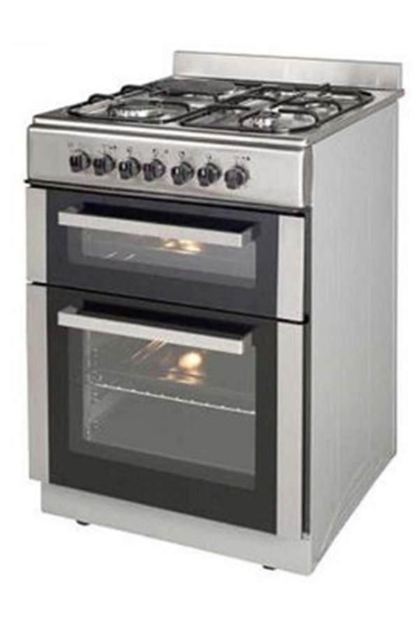 Cuisini re mixte la germania tgx60dfx inox 4156820 darty - Cuisiniere la germania ...