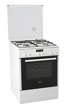 Cuisinière mixte HR72D210F BLANC Siemens