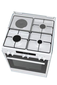 Cuisinière mixte HX72D220F Siemens