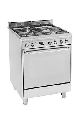 Cuisinière mixte Smeg CP60X9 INOX