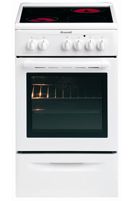 avis clients pour le produit cuisini re vitroc ramique brandt kv 550 we1. Black Bedroom Furniture Sets. Home Design Ideas