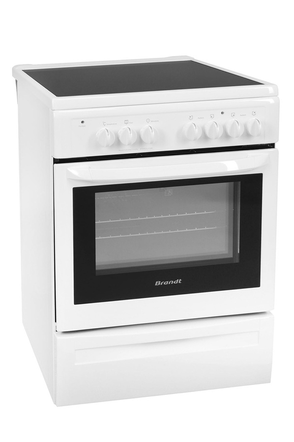 cuisini re vitroc ramique brandt kvp660w 2860406 darty