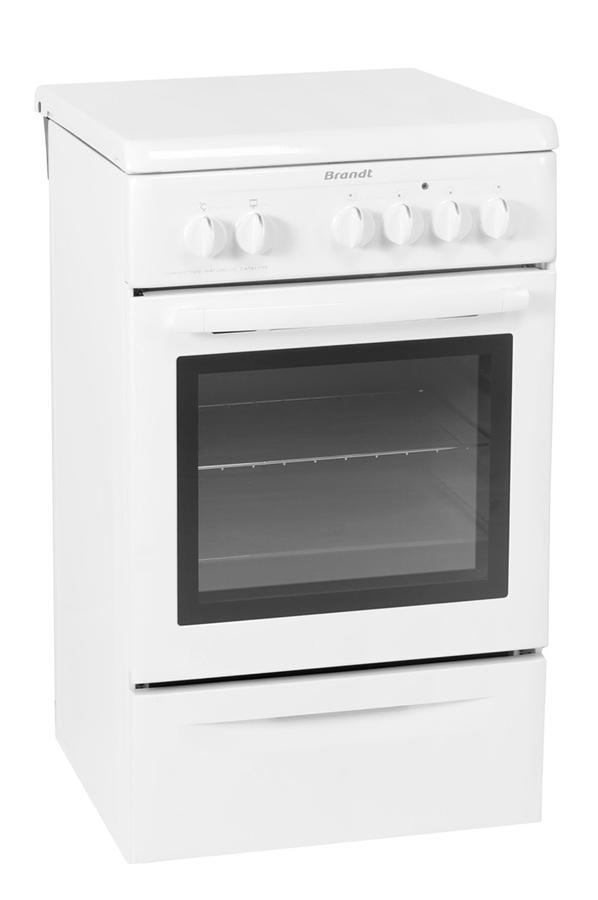Cuisini re lectrique brandt ke900w 3204456 darty - Darty cuisiniere electrique ...