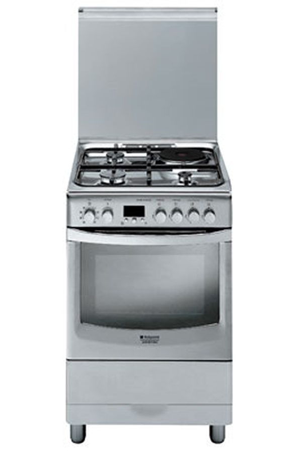 Cuisini re mixte hotpoint cx61sfa x f ha inox cx61sfa x f ha 3399109 darty - Darty cuisiniere electrique ...