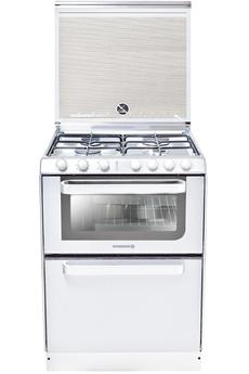 Table de cuisson - 4 foyers gaz Four multifonction air brassé - Capacité : 40 litres Lave-vaisselle 6 couverts Classe énergétique A