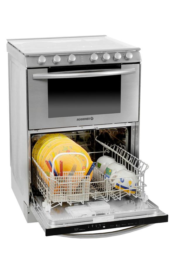 Lave vaisselle table de cuisson rosieres triple mx for Table de cuisson lave vaisselle
