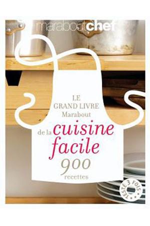 livre de cuisine marabout le grand livre marabout de la cuisine facile de la cuisine darty. Black Bedroom Furniture Sets. Home Design Ideas