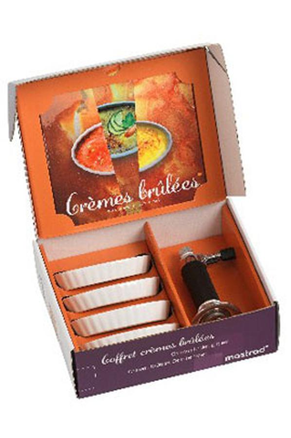 coffret cuisine mastrad coffret cremes brulees 1272500 darty. Black Bedroom Furniture Sets. Home Design Ideas