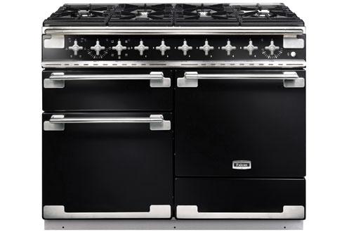 Piano de cuisson Falcon ELISE MIXTE 110cm Noir brillant - ELS110DFGB/-EU