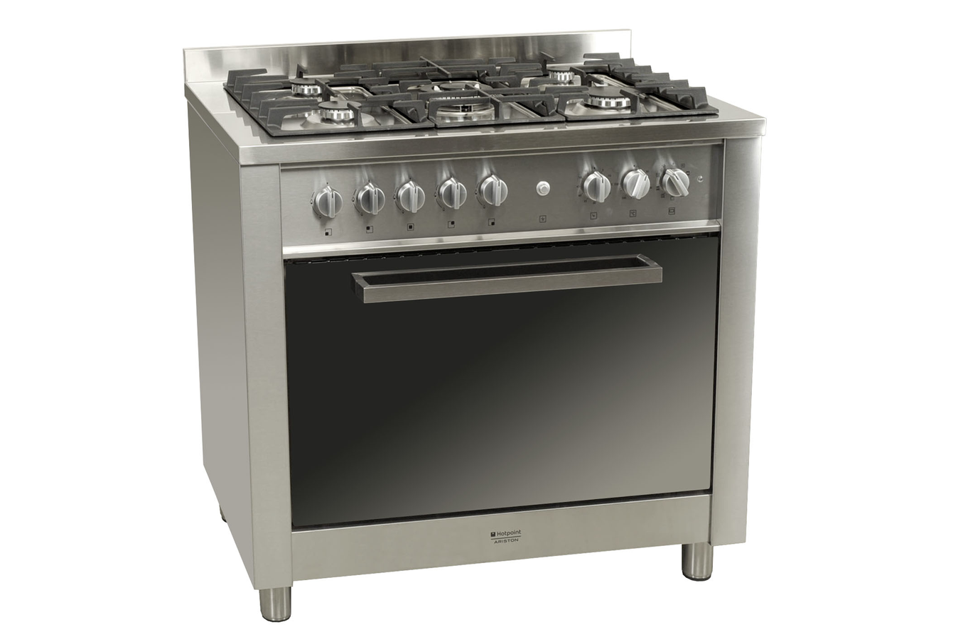 Piano de cuisson hotpoint obs cp98sp1 ix ha inox 2763532 darty - Piano de cuisson inox ...