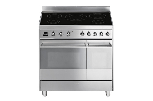 Piano de cuisson Smeg ESTHETIQUE CARREE 90cm INDUCTION INOX - C92IPX8