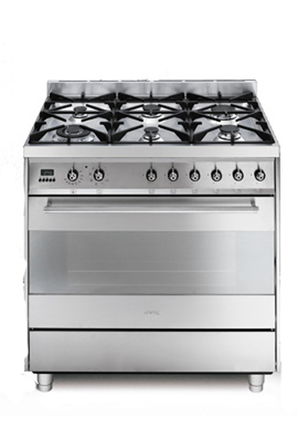 Piano de cuisson smeg c9gmx inox c9gmx 3099547 darty - Piano de cuisson inox ...