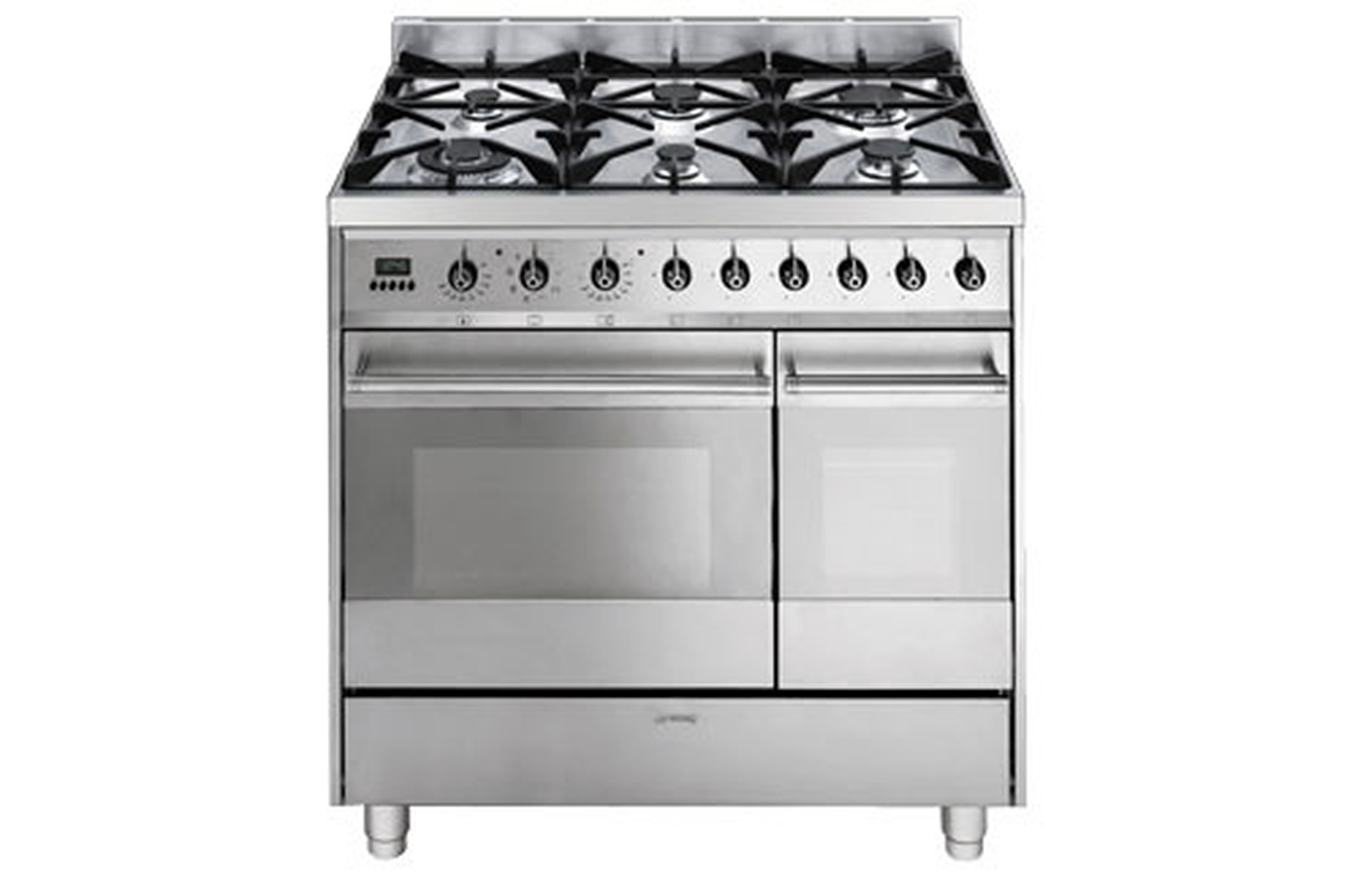 Piano de cuisson smeg c 92 gmx inox 2546213 darty - Piano de cuisson inox ...