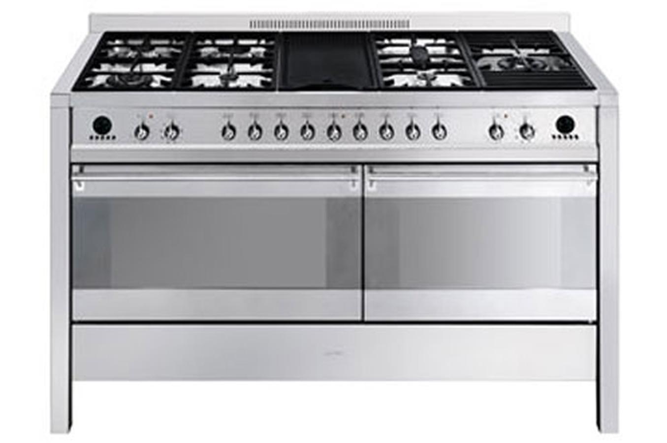Piano de cuisson smeg cs150 6 3193497 darty - Cuisiniere piano smeg ...